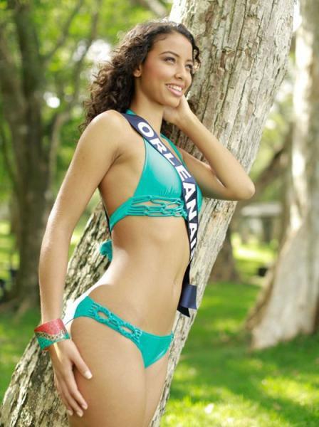 Flora Coquerel : Election Miss France 2014 , Miss Orléanais elue Miss France 2014