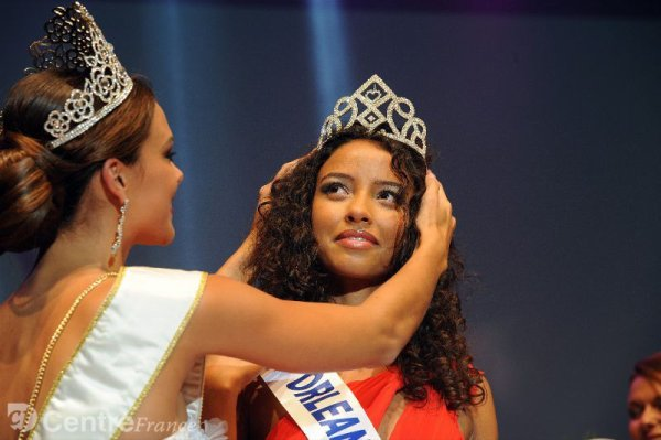 Flora Coquerel : Election Miss France 2014 , Miss Orléanais elue Miss France 2014