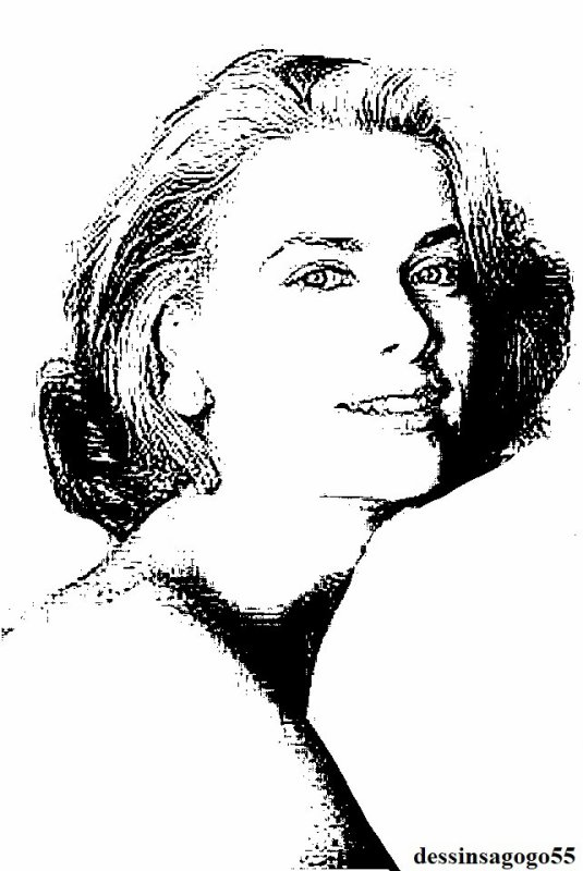 Grace Kelly : dessinsagogo55