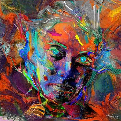 "Archan Nair -  Nouvelle illustration intitulée ""luminescent"""