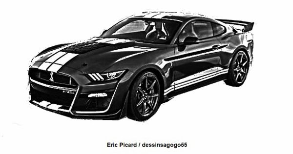 Ford Mustang : 760 ch pour la nouvelle Shelby GT500