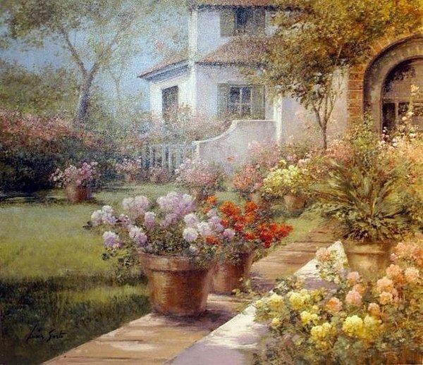 Lucia Sarto : Peintre