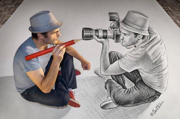 Ben Heine ; L'artiste belge