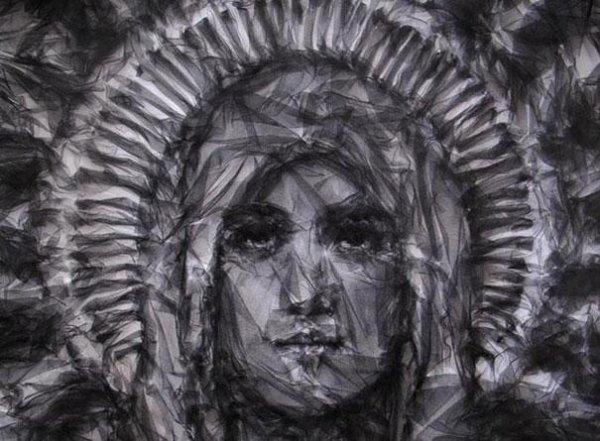 Benjamin Shine : Artiste qui Crée de Magnifiques Portraits au Fer à Repasser !