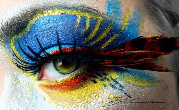 Svenja Schmitt : Des Maquillages Dignes d'être des Oeuvres d'art