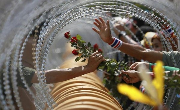 Moments Forts Synonymes de Paix Lors de Manifestations et d'Emeutes
