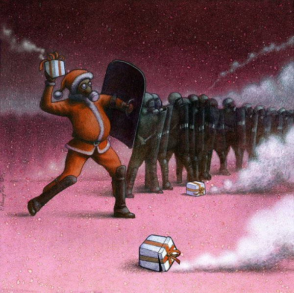 Pawel Kuczynsky : Il dénonce les réalités de notre monde à travers des illustrations satiriques poignantes