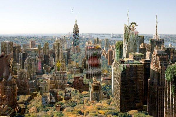 Chris Morin : Et Si la Nature Reprenait Ses Droits Dans les Plus Grandes Villes du Monde