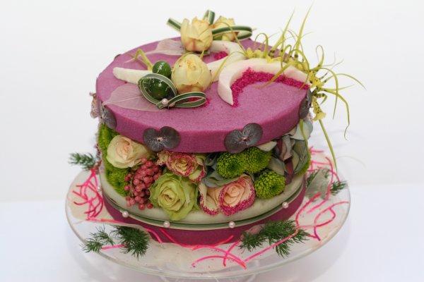 """Gâteaux fleurs de l'Atelier Fleurs d'Auteuil """" Paris """""""