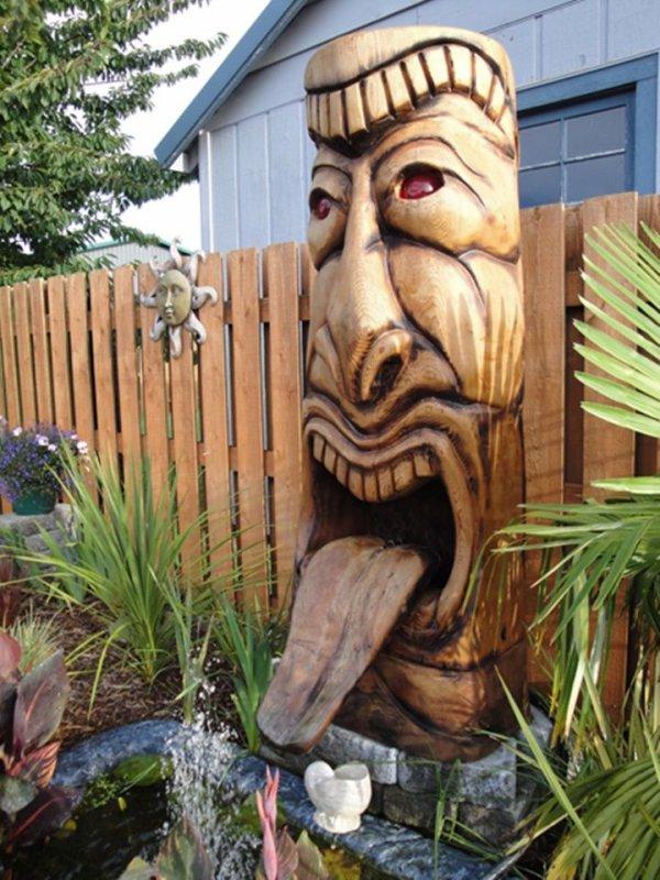Jeff Uitto Sculptures de bois flotté