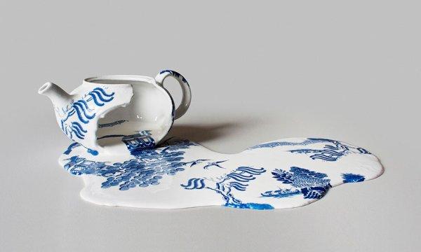 Livia Marin : Les porcelaines fondues