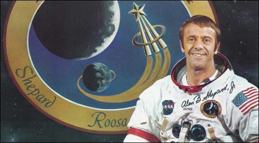 Alan Shepard : premier astronaute Américain