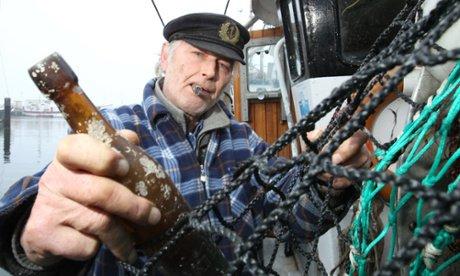 La plus vieille bouteille à la mer récemment retrouvée