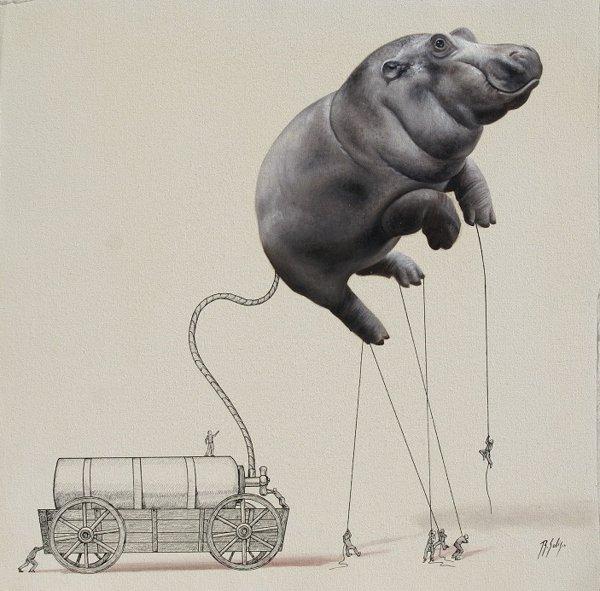 Ricardo Solis : Les petits hommes créent les animaux
