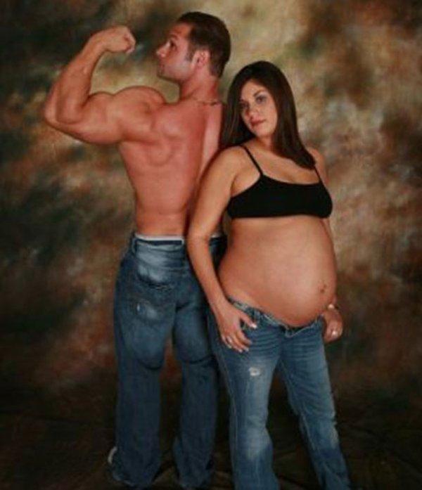 Les pires photos de femmes enceintes, bon courage les enfants