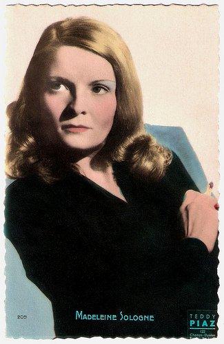 Madeleine Sologne