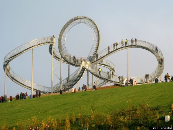 Tiger and Turtle - Magic Mountain - Duisbourg, Allemangne