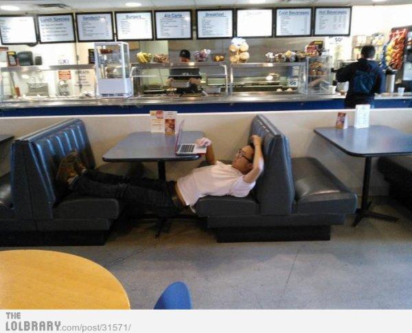 Des personnes les plus paresseuses