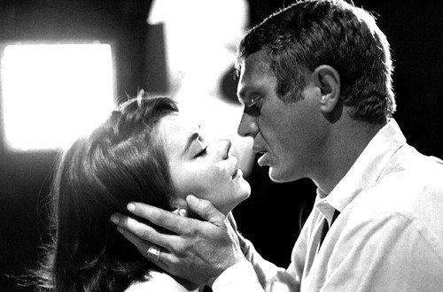 Steve McQueen et Natalie Wood