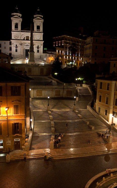 Place d'Espagne - Rome - Italie