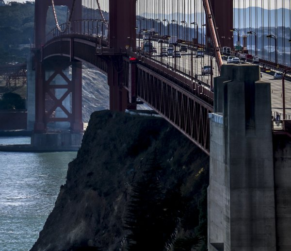 Golden Gate Bridge à San Francisco