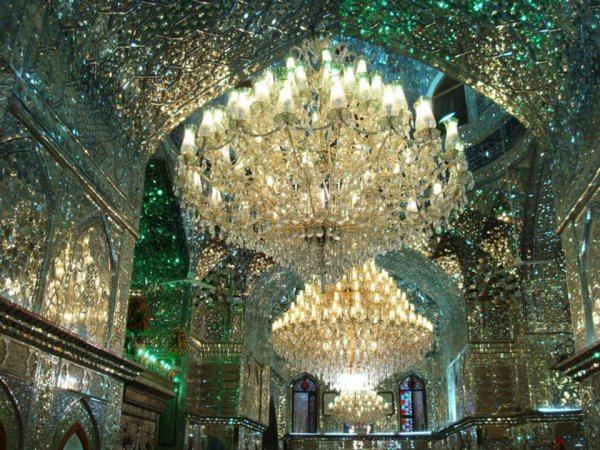 Shah Cheragh (Lumière du Roi) Mosquée - Shiraz, Iran