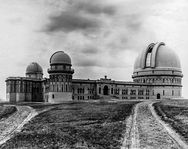 L'Observatoire Yerkes, Williams Bay, Wisconsin, photos 1896-1926