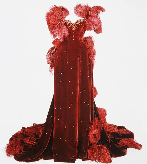 Costumes dessinés par Walter Plunkett pour Vivien Leigh dans Autant en emporte le vent (1939)