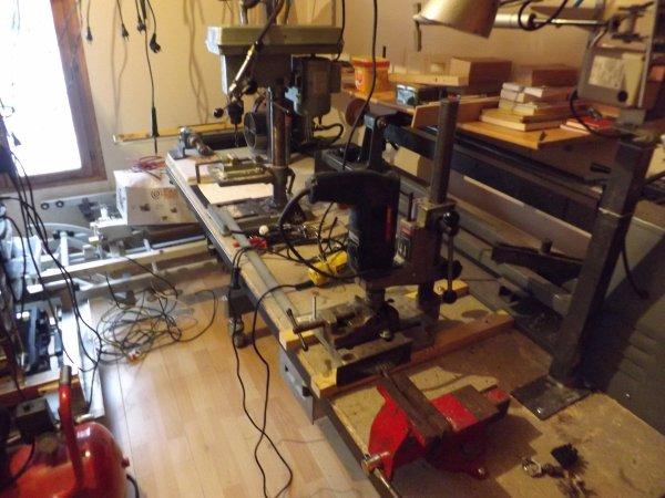 Chalets : Mes premières machines ( Des réglages ) Un ensemble et un cablage fou