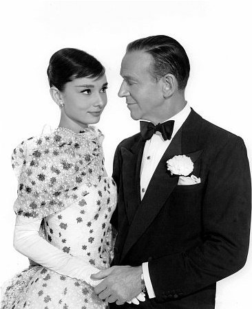 Audrey Hepburn avec Fred Astaire dans Funny Face (1957)