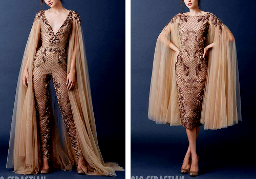 PAOLO SEBASTIAN The Secret Garden - Couture Automne 2015