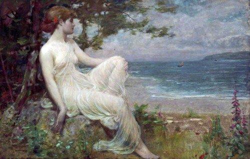 Robert Fowler (1853-1926), murmures de la mer.