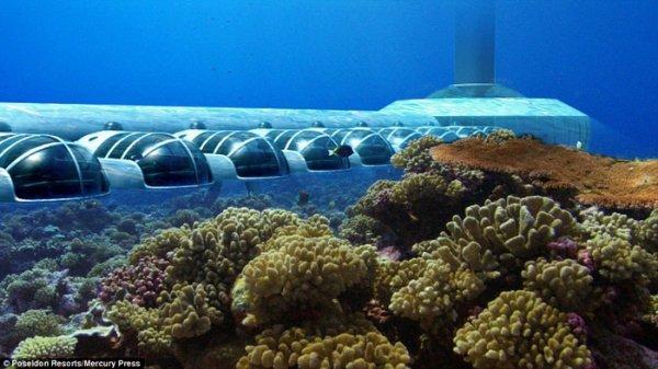 Poseidon Resort, l'hôtel sous-marin
