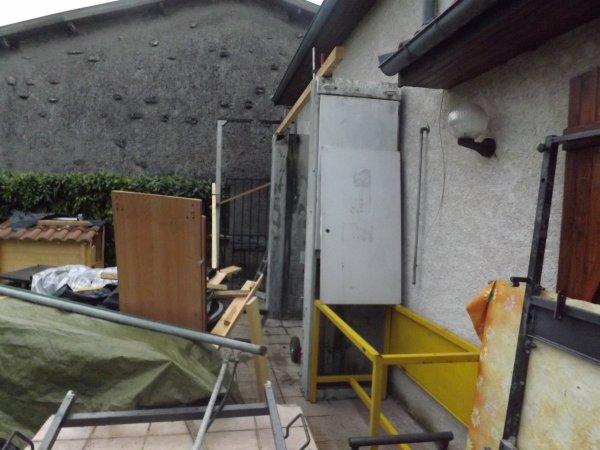 Et les travaux continuent, avant l'ouverture des murs