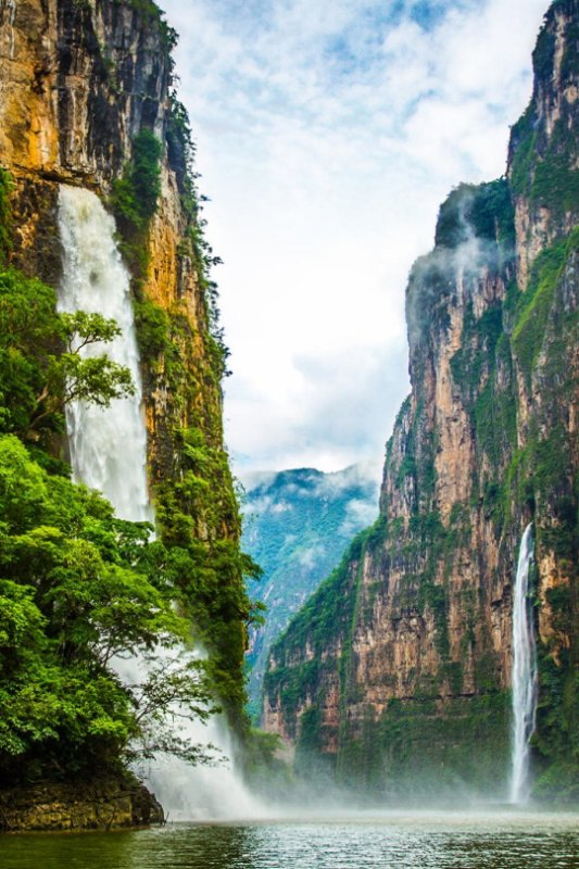 Sumidero Canyon, Mexique