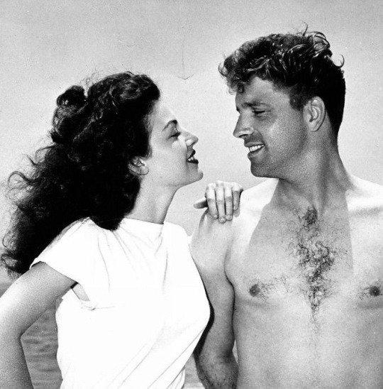 Ava Gardner et Burt Lancaster 1946