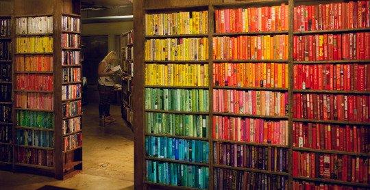 La dernière librairie à Los Angeles, en Californie