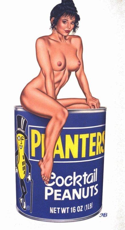 Pin-up Art Nu classique de Mark Blanton