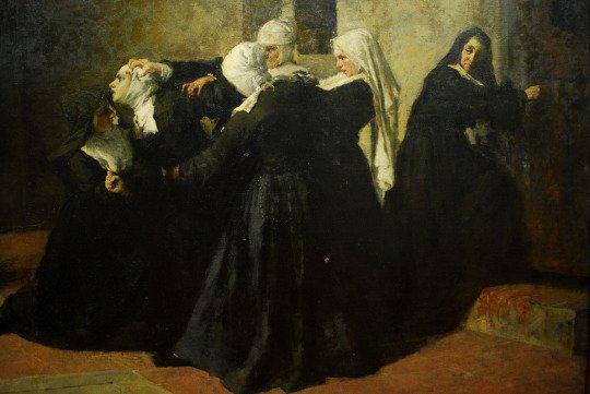 Giacomo Grosso (1860-1938), La Cella delle Pazze - 1884