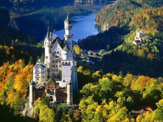 Château de Neuschwanstein, Allemagne