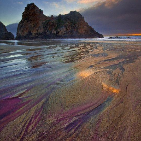 Différents types de plages