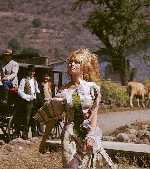 """Brigitte Bardot in """"Viva Maria"""", 1965"""