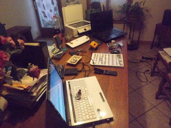 Voici le bureau de MiniBois