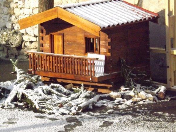 Les chalets sous la neige MiniBois