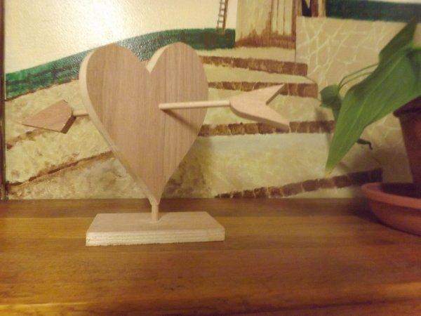 Un grand coeur destiné par un client MiniBois