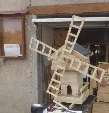Moulin MiniBois : L'aile tournera même sans vent