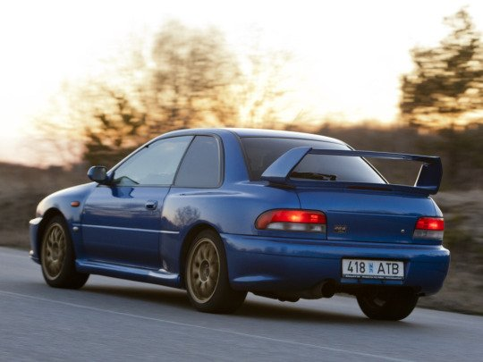 Subaru Impreza 22B-STi LHD (GC8) '1998