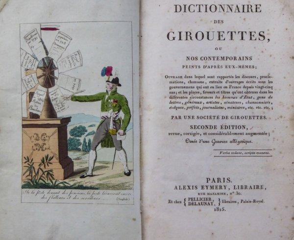 Dictionnaire des girouettes-1815