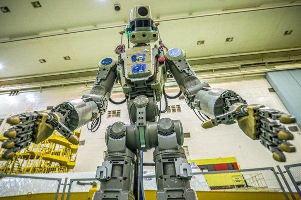 Le robot Fedor s'arrime à l'ISS à bord de Soyouz
