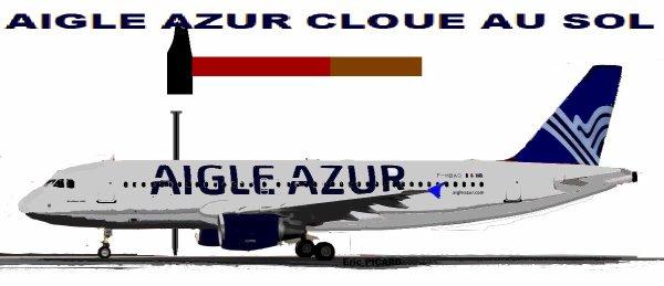 Aigle Azur annule tous ses vols